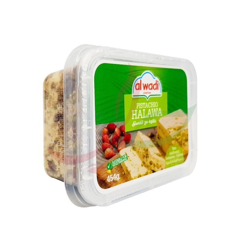 Halva with pistachios Alwadi 454g
